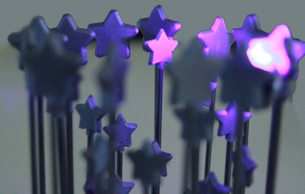 3d printing maastricht projects communication and branding - Gemeente commemorative stars - 3