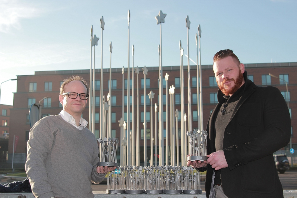 3d printing maastricht projects communication and branding - Gemeente commemorative stars 2